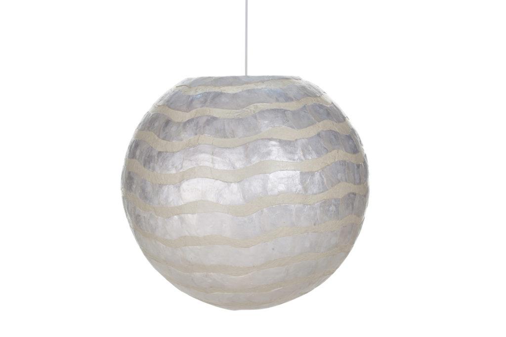 Hanglamp bol white waves