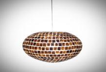 Hanglamp Moni gold 60cm