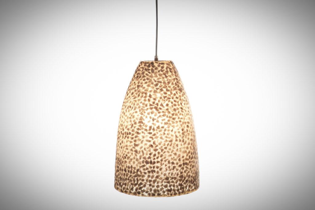 Hanglamp Wangi White Cone 28cm