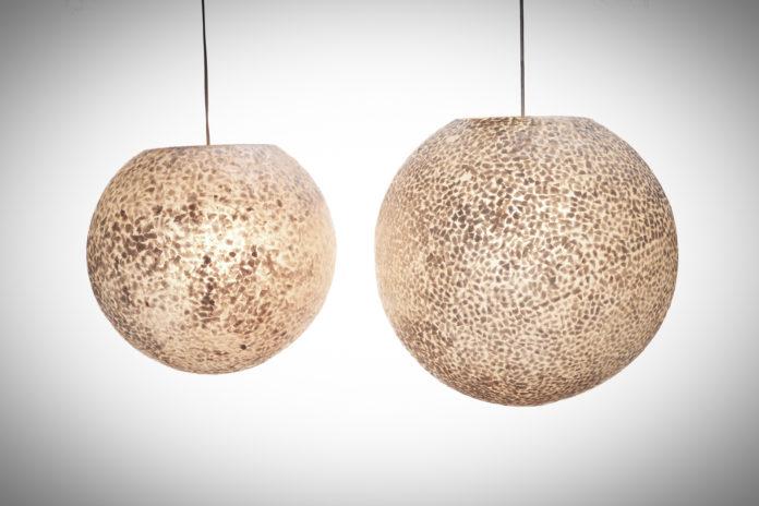 Hanglamp Wangi White ball 40-50cm