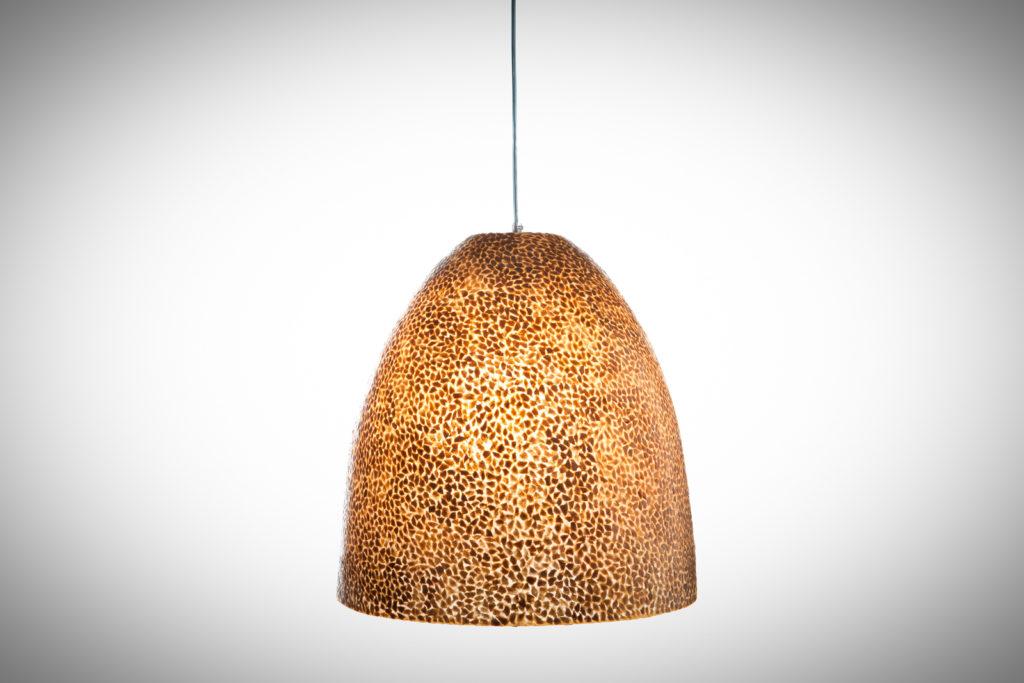 Hanglamp Wangi gold bell 45cm