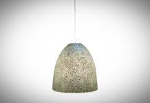 Hanglamp Wangi white bell 45cm