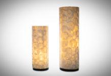 Tafellamp Full shell 30-40cm-