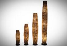 Tafellamp Moni Gold 70-100-150-200cm