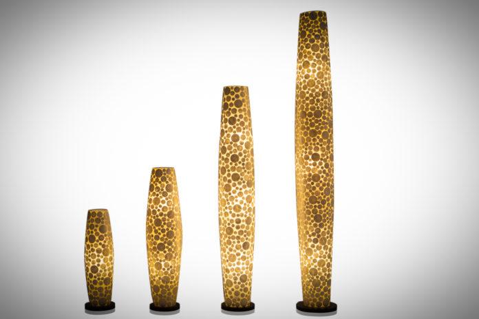 Vloerlamp Coin white 70-100-150-200cm-