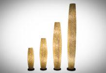 Vloerlamp Moni white 70-100-150-200cm
