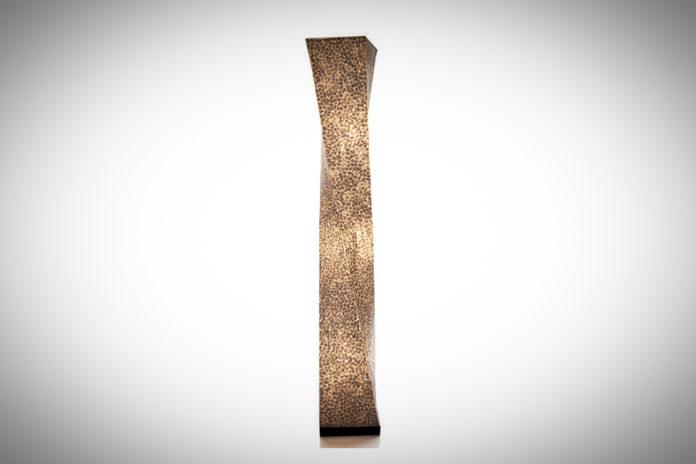Vloerlamp Wangi White twisty 150cm