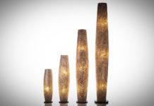 Vloerlamp Wangi gold 70-100-150-200 cm