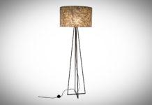 Vloerlamp Wangi gold capri 158cm