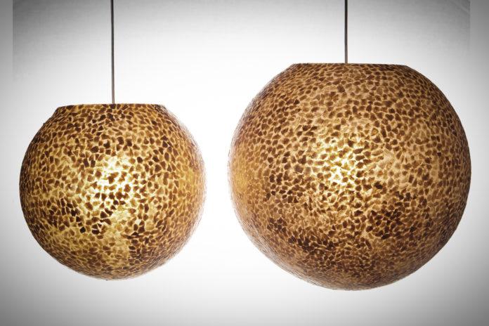 hanglamp Wangi Gold ball 40-50cm